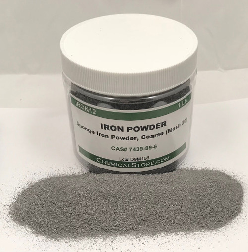 IRON12 is a special coarse iron powder with spongy flake structure produced from high purity iron ore by hydrogen reduction method.
