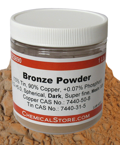 Bronze Powder, Spherical, Dark
