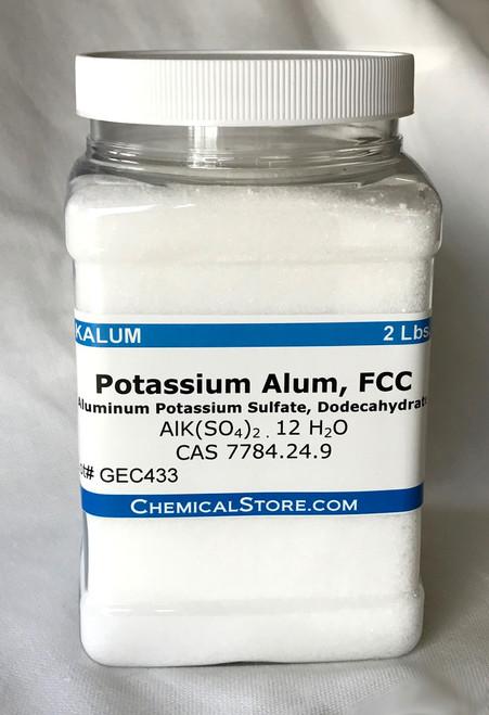 Potassium Alum (Potassium Aluminum Sulfate)