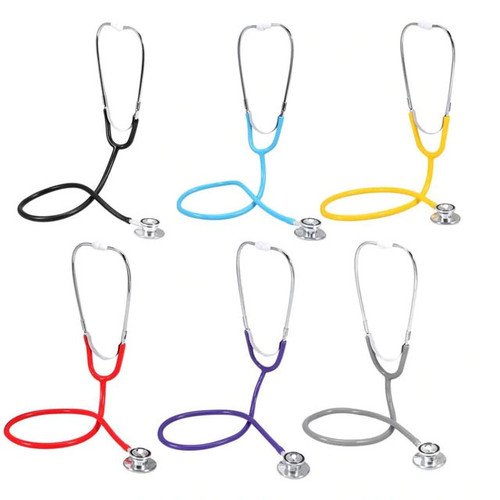 This multifunctional double head stethoscope is designed for all auscultation. Acoustic transmission in the heavy metals did not decay, the real clear without attenuation. Help you fast diagnose heart disease, taking special care of your physical health. It is widely applied for cardiovascular and respiratory auscultation in hospital, clinic, school, or home.