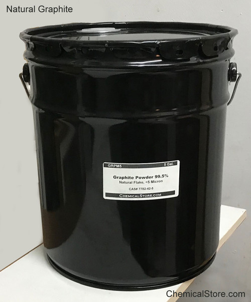 Graphite Powder, Natural, Flake, 5 gallons