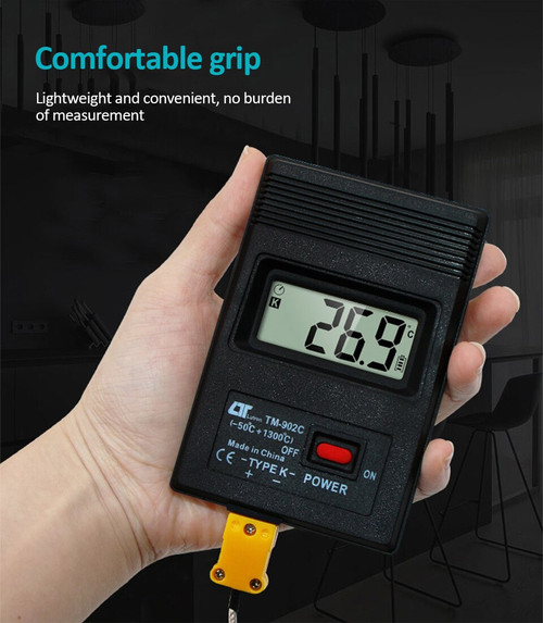Thermocouple Thermometer (-50C to 1300C)