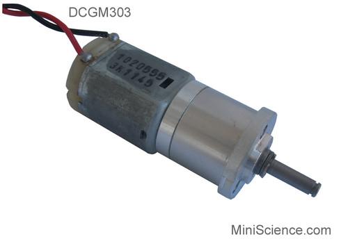 DC Gear Motor, low speed gear motor, 3-18 Volt