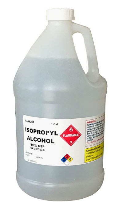 ISOPROPYL ALCOHOL 99% USP, 1 Gallon