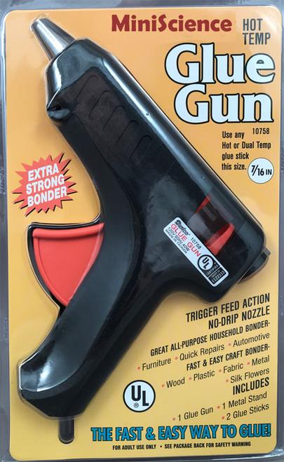 Glue gun, hot temperature