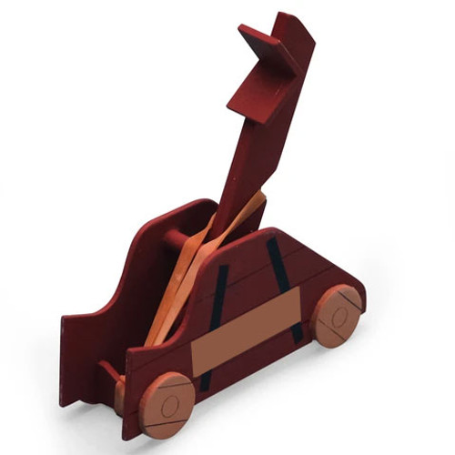 Catapult, Make a wooden catapult