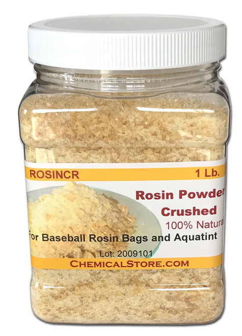 Crushed Pine Rosin (For Baseball Rosin Bag and Aquatint Dusting)
