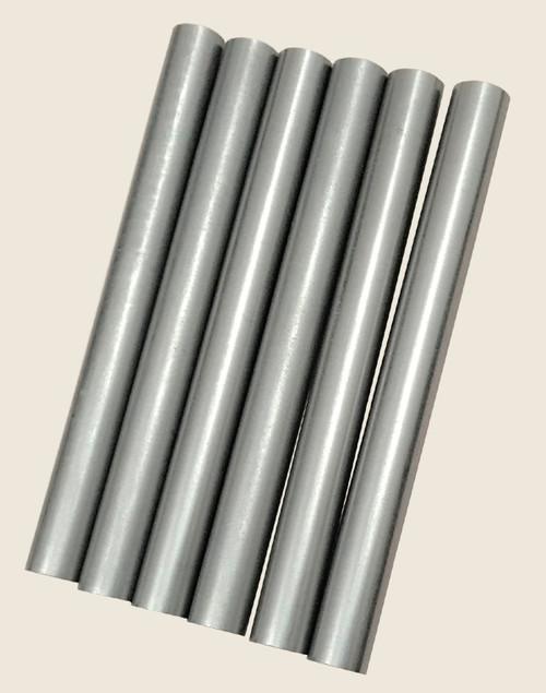 High density, high purity, high conductivity graphite rod
