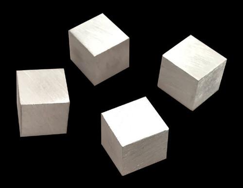Aluminum cubes, 10x10x10mm