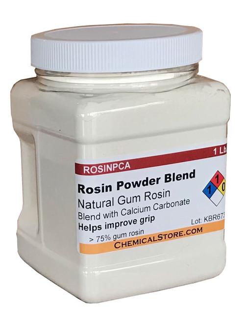 Rosin Powder Blend with Calcium Carbonate