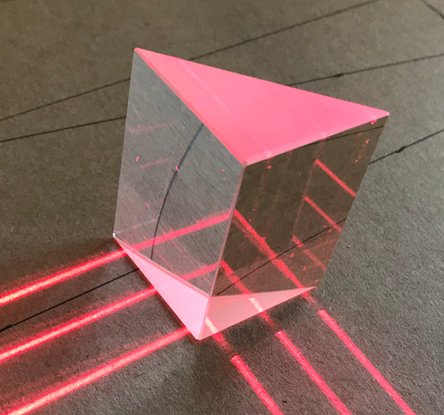 Glass Right Angle Prism 32 x 50