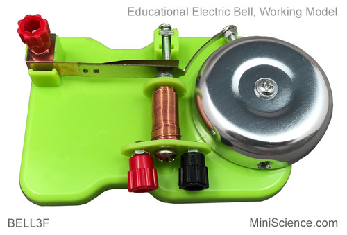 Educational working model of electric bell