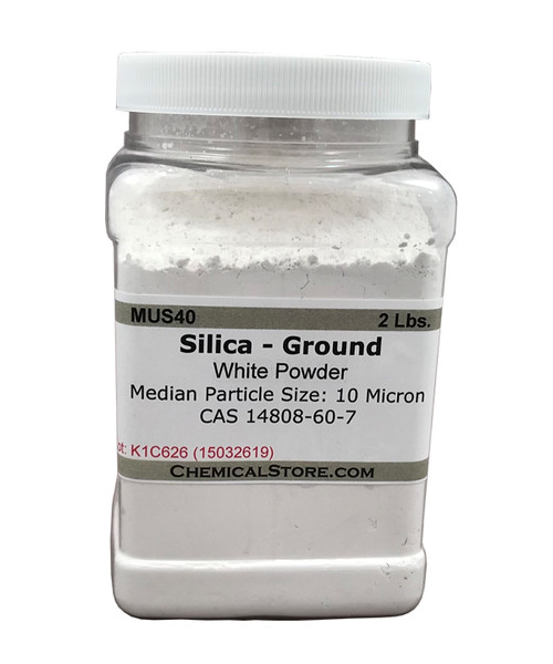 Silica Powder, Ground Silica, 10 Micron