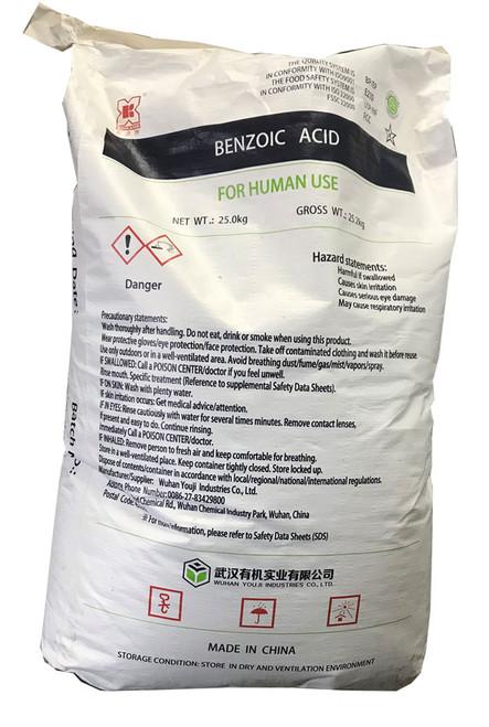 Benzoic Acid Bag