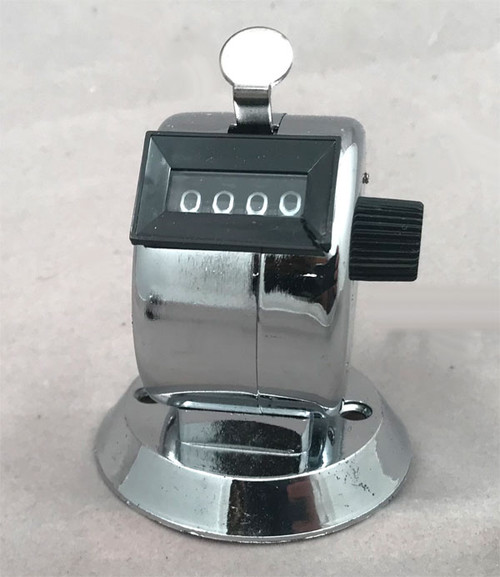Desktop Talley Counter with metallic base
