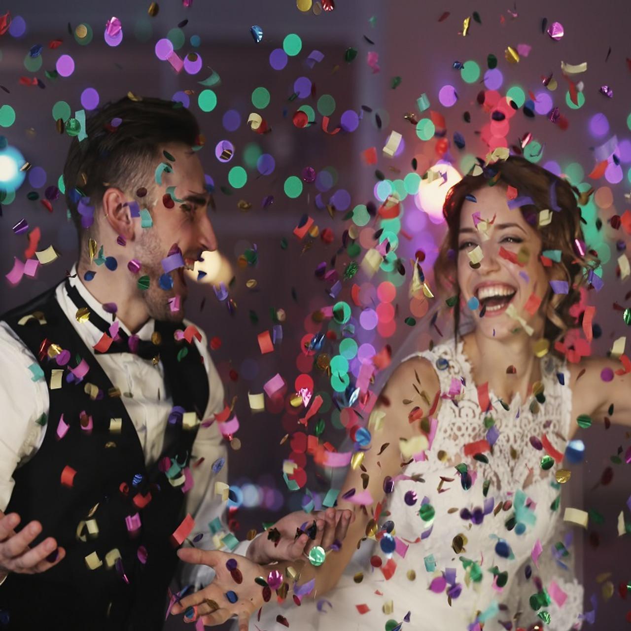 Giant Confetti Cannon Party Supplies Multicolor 23