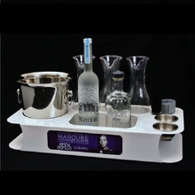Custom Bottle Service Trays