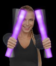 LED Foam Stick Baton - Purple