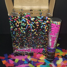 confetti cannon multi color 12 inch