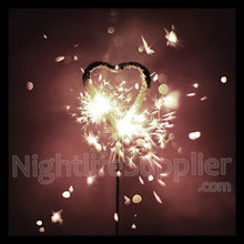 Heart Shaped Sparklers