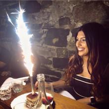 Big Birthday Cake Sparklers EXTENDED BURN
