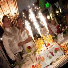 Wedding Cake Sparklers EXTENDED BURN