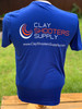 Clay Shooters Supply Sport Tek Athletic Shirt - Blue