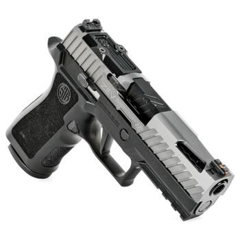 ZEV Z320 XCARRY OCTANE GUNMOD WITH RMR OPTIC CUT, GRAY SLIDE, BLACK BARREL