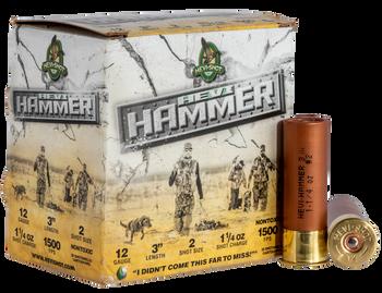 """HEVI HAMMER 12ga 3"""" 1 1/4oz 2 shot 1500fps"""