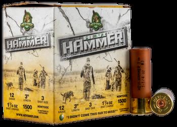 """HEVI HAMMER 12ga 3"""" 1 1/4oz 3 shot 1500fps"""