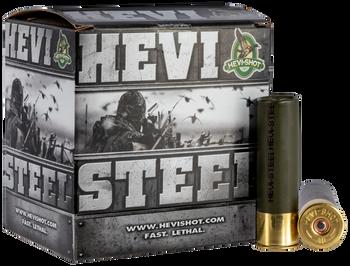 """HEVI-SHOT HEVI Steel 12ga 3"""" 1 1/4oz #2 Shot 1500fps 25rd"""