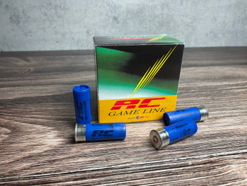 RC Game Line 12ga, 1oz 1250FPS #6 Tempered Lead Shot - Flat (10 boxes/25rds)