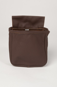 Single Pouch Wide Gusset- Brown