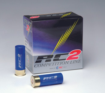 RC 2 Competition 12ga, 1oz 1250FPS #8 Shot Lead - Flat (10 boxes) / 25 rd