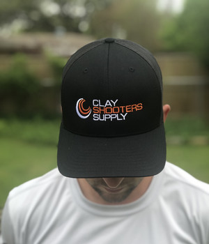 Clay Shooters Supply PRO Trucker Hat - Black