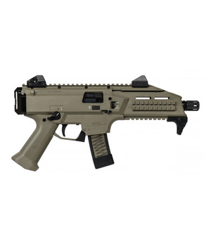 CZ SCORPION EVO 3 S1 9MM PISTOL, FLAT DARK EARTH - 91352