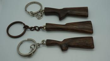 Turkish Walnut stock key chains- Grade 2