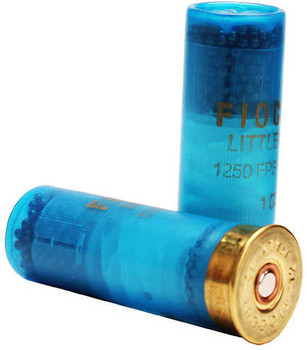"Fiocchi Little Rino Exacta Target 12TX8, 12ga 2-3/4"" 1 oz 1250 fps #8 Lead Shot 25Box/10Case"