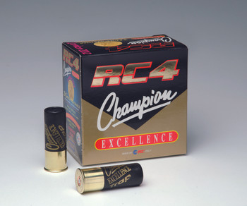 RC 4 Champion Excellence 12ga, 7/8oz 1360FPS #9 Shot - Flat (10 boxes)