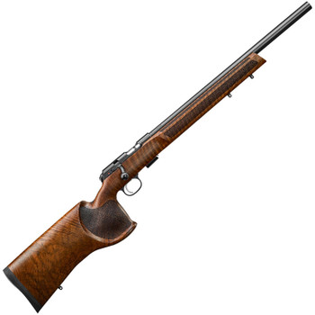 "CZ 457 Varmint MTR .22 LR Bolt Action Rifle 20.5"" Barrel 5 Rounds Walnut Target Stock - 02345"