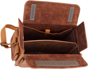 Wild Hare Leather Range Bag - Dusk