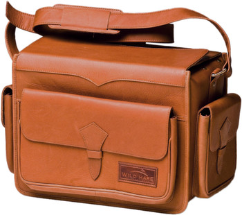 Wild Hare Leather Range Bag - Dusk