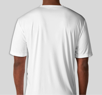 Clay Shooters Supply Sport-Tek Competitor Performance Shirt- WHITE