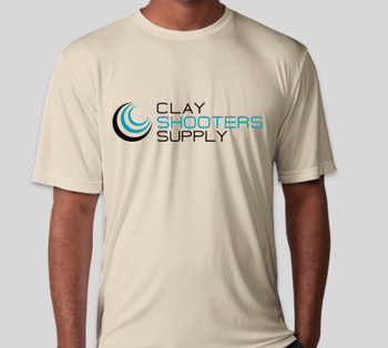 Clay Shooters Supply Sport-Tek Competitor Performance Shirt - SAND