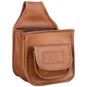 Wild Hare Leather Divided Pouch - DUSK