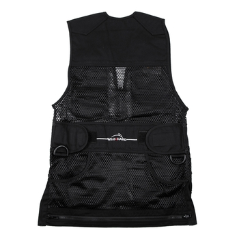 Wild Hare Heatwave Mesh Vest -- Black