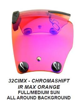 Outlaw X6 ZEISS Chromashift Infra Red Lenses