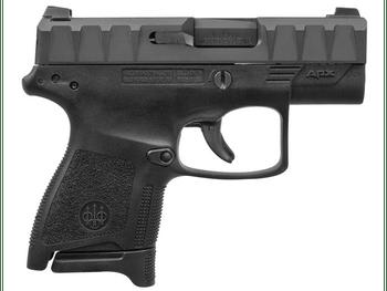 "Beretta APX Carry Semi-Auto Pistol 9mm 3.07"" Barrel Black Frame/Slide - LE Edition - Includes (2) 6rd (1) 8rd Magazines - JAXN922"