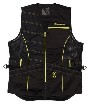 Browning Ace Shooting Vest – Black/Volt