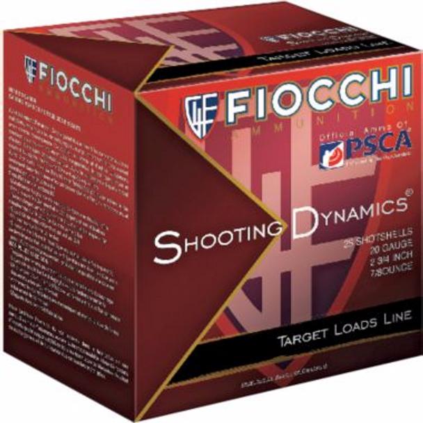 20 Gauge Fiocchi Target Shooting Dynamics 1210FPS 1oz - Flat (10 boxes)